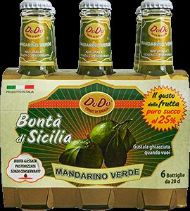 Bibite gassate - Soft drink - Succhi di frutta - Cocktail - Mandarino verde