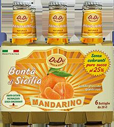 Bibite gassate - Soft drink - Succhi di frutta – Cocktail - Mandarino